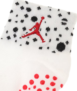 JORDAN(ジョーダン)JHN CEMENT GRIP QUARTER GRIPPY 3PK ソックス3足組 ベビー(10-12㎝)