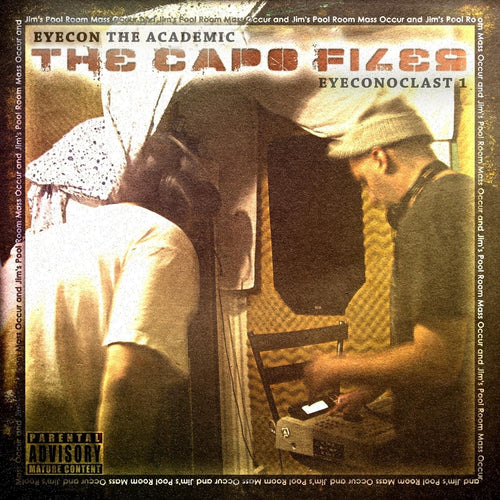 Eyecon and Capo - The Capo Files CD