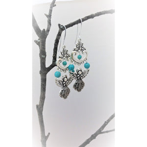 Floating Angel earrings - Mystery Art & Jewelry
