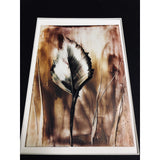 Encaustic Wax Painting 8x10 - Mystery Art & Jewelry