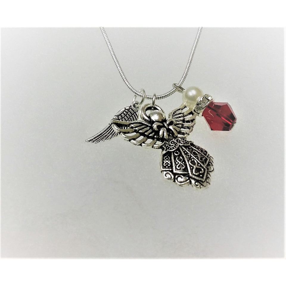 Angel necklace jewelry set - Mystery Art & Jewelry