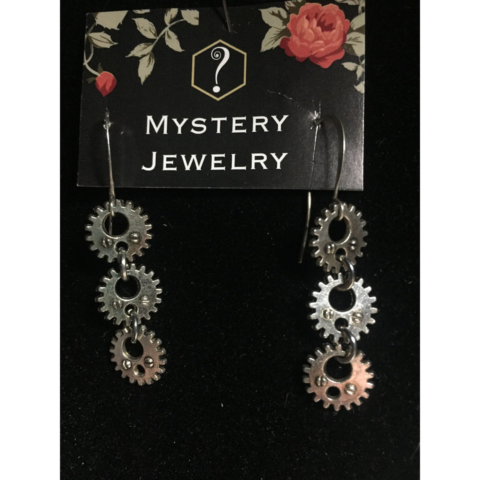 'Gear'rings Earrings - Mystery Art & Jewelry