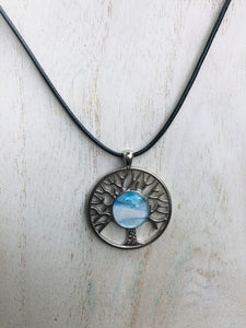tree of life necklace Encaustic Art