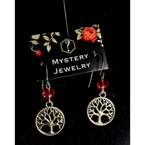 Tree of life earrings - Mystery Art & Jewelry