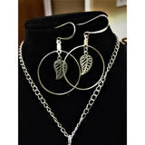 Beautiful leaf Jewelry Set - Mystery Art & Jewelry