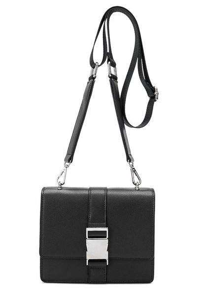 Gia Black Crossbody/Belt Bag