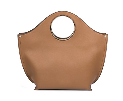 Heather Camel Tote