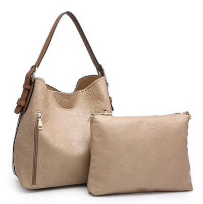 Alexa 2 in 1 Conceal Carry Paper Tan Hobo