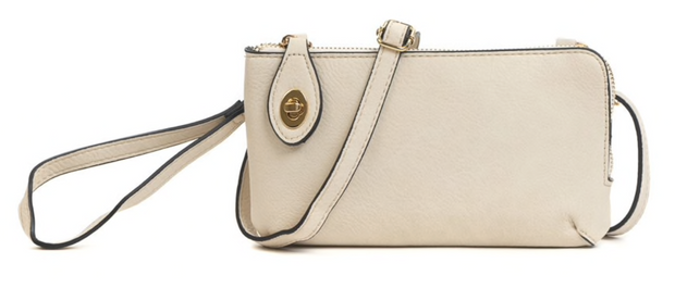 Kendall Ivory Wallet/Crossbody