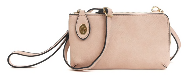 Kendall Light Pink Wallet/Crossbody