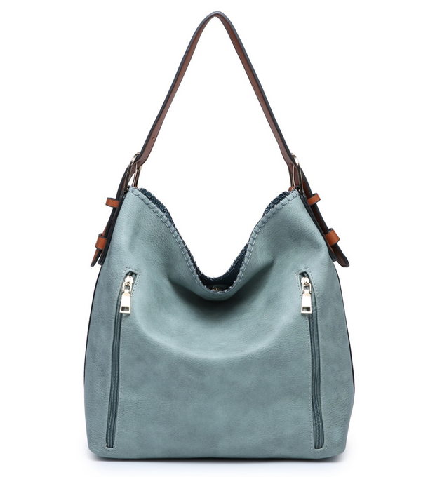 Alexa 2 in 1 Conceal Carry Teal Hobo