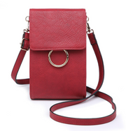 Ayla Touch Screen Crossbody - Wine