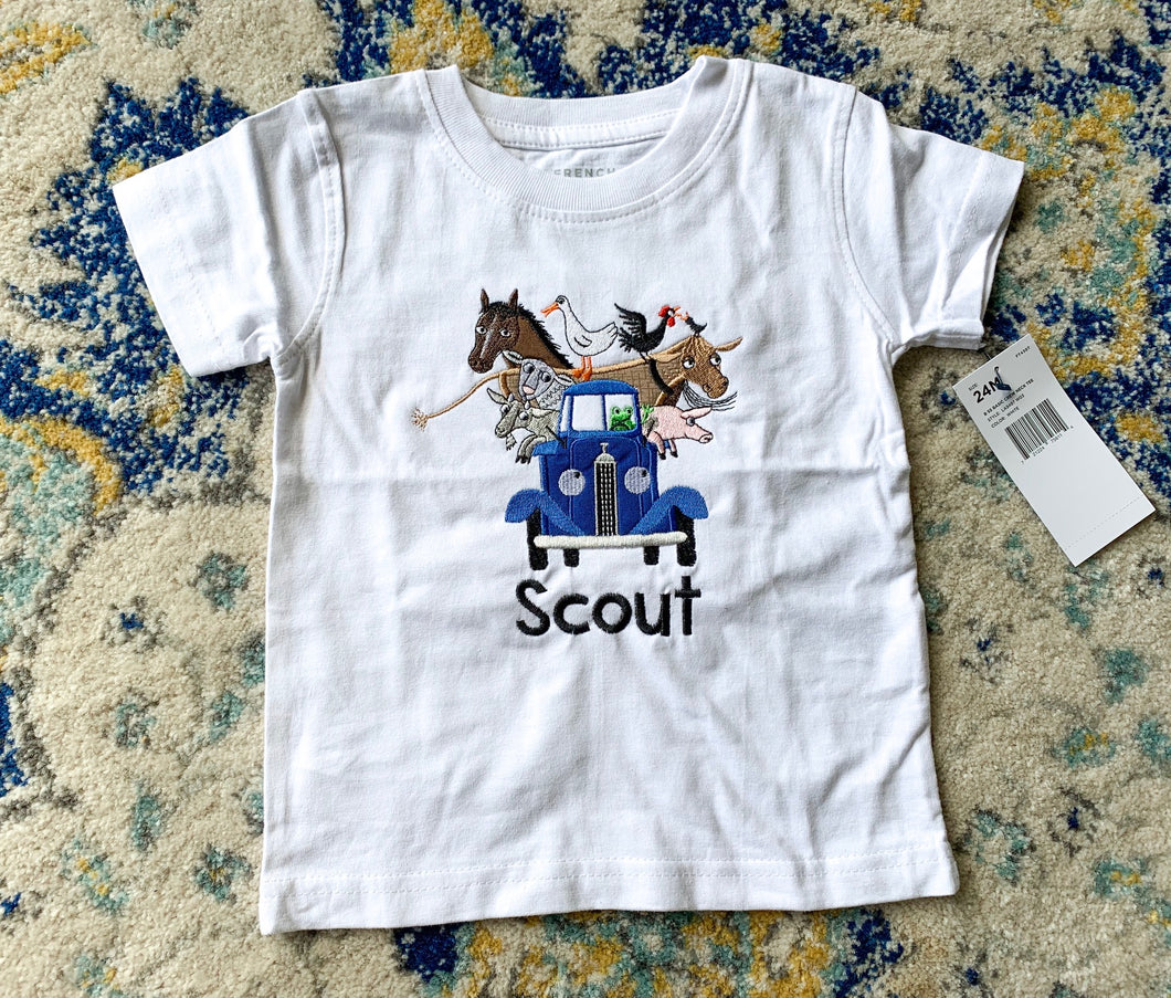 Little Blue Truck Shirt