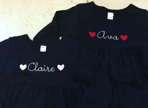 Heart Name Dress