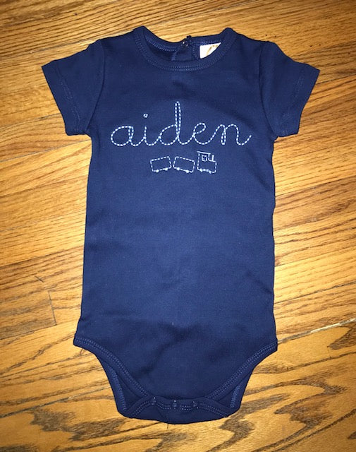 Train Vintage Stitch Bodysuit