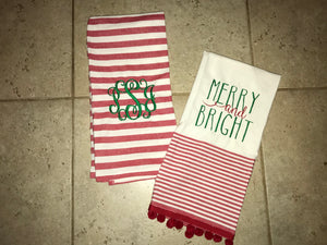 Christmas Tea Towel Set