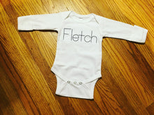 Load image into Gallery viewer, Classic Stitch Name Bodysuit