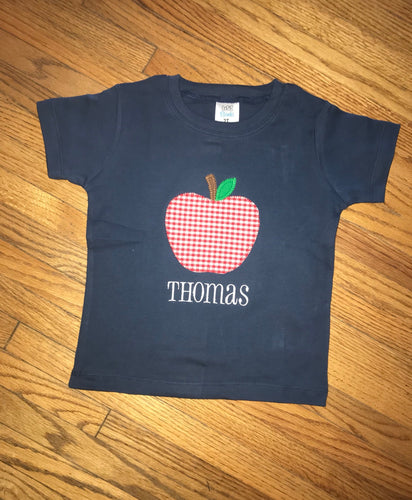 Apple Applique Shirt
