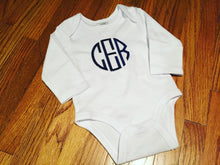 Load image into Gallery viewer, Monogrammed Bodysuit