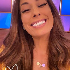Stacey Solomon MurrayandMe disc Sirius Necklace