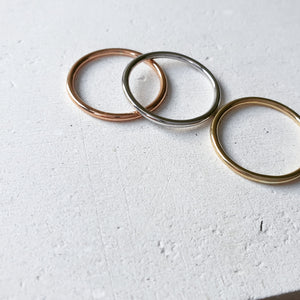 The Slim Chara Stacking Rings
