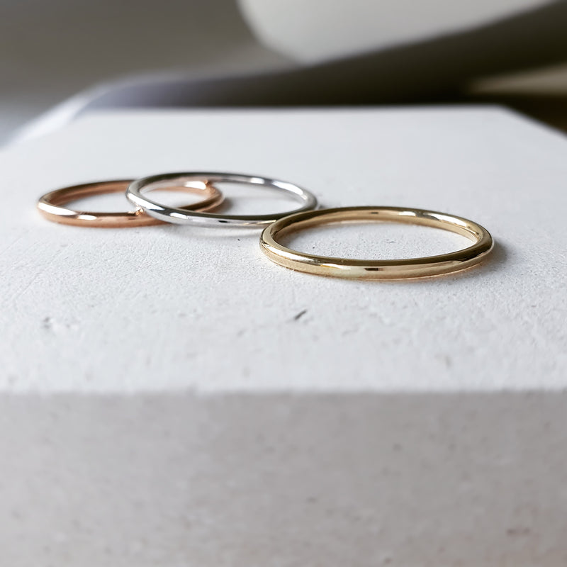 Slim Chara Stacking Rings