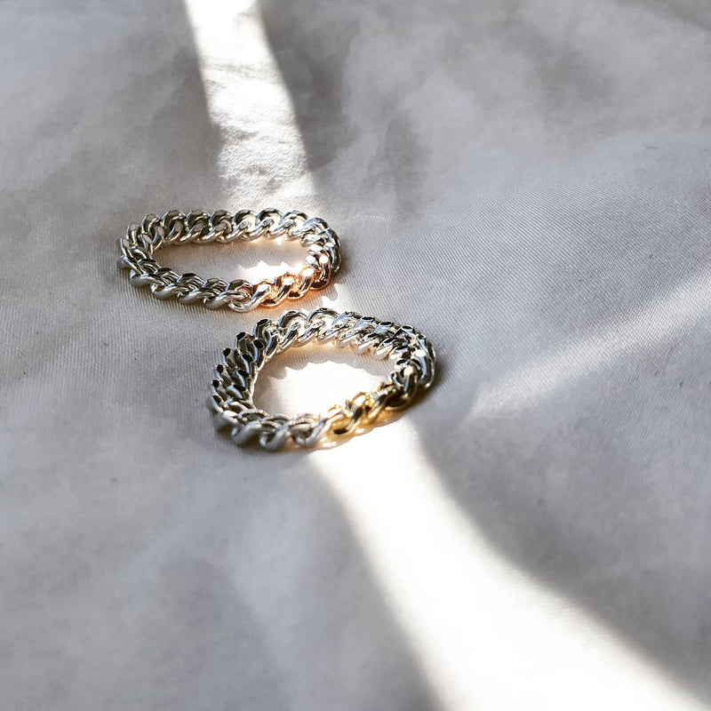 Chain Ring- Mixed Metal