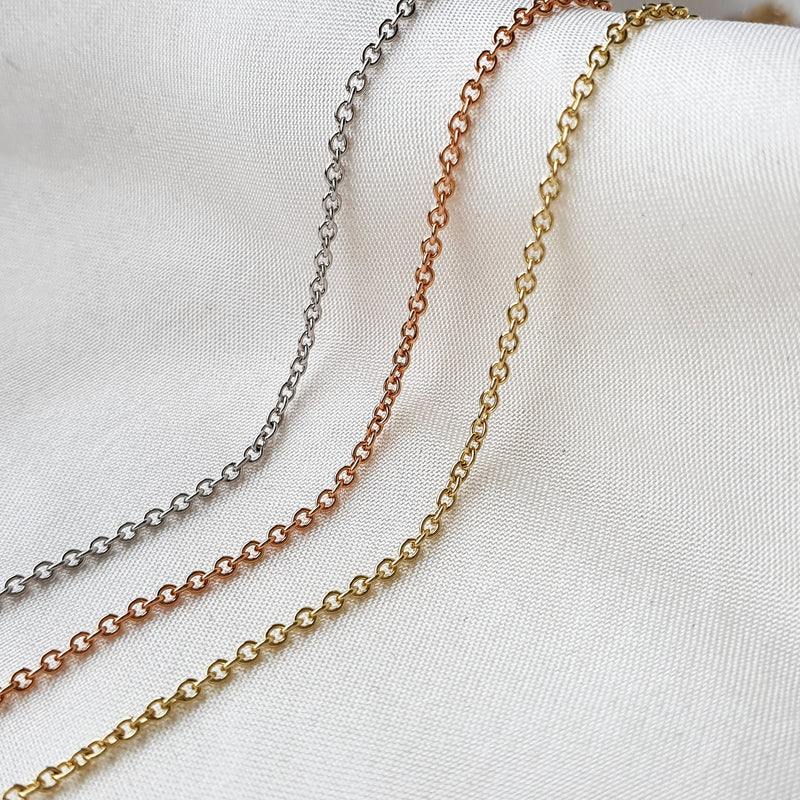 Timeless Trace Chain- Solid Gold