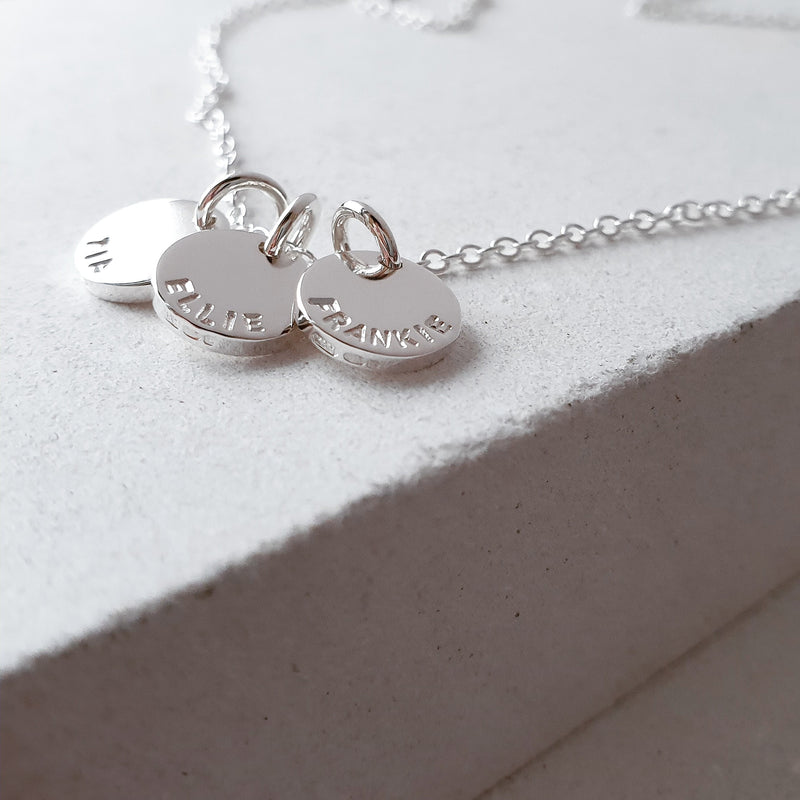 The Sun Necklace (Small) - A Personalised Name Necklace