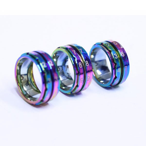 KnitPro Row Counter Ring | Rainbow Editon