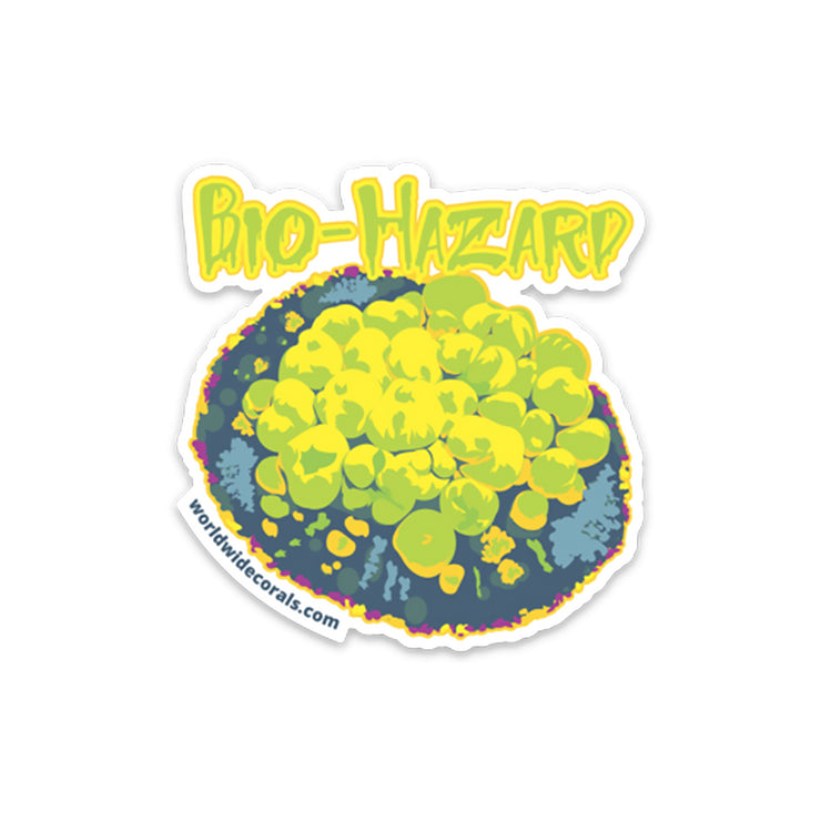 WWC Bio-Hazard Bounce Sticker