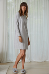 Drop shoulder lounge dress