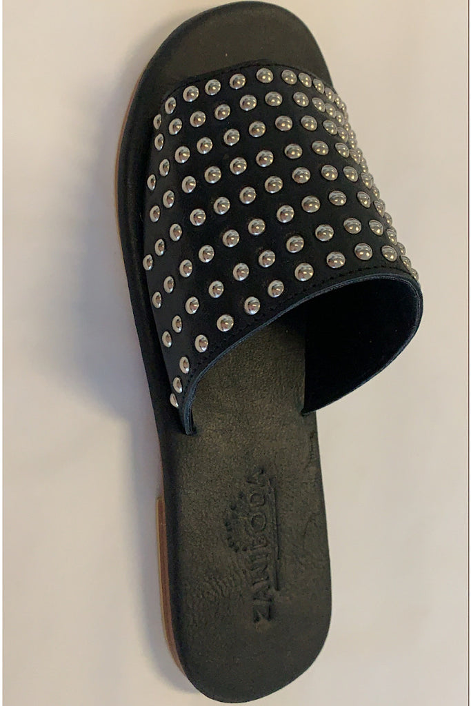 Studded Slides black