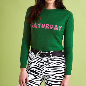 The Ultimate Saturday Knit Jumper