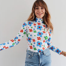 Load image into Gallery viewer, The Flora High Neck Top