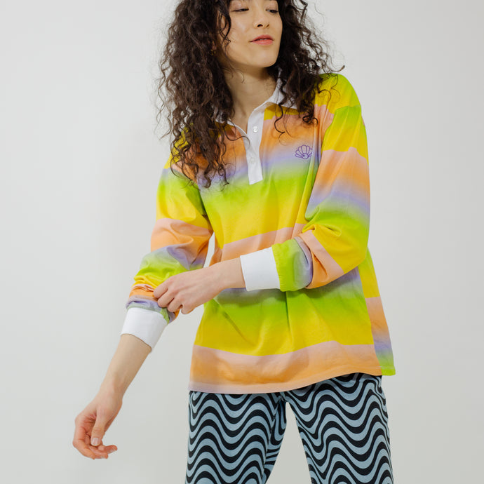 The Suki Ombre Stripe Rugby Shirt