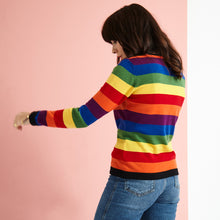Load image into Gallery viewer, The Rainbow Stripe Knit Jumper