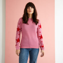 Load image into Gallery viewer, The Star Arm Knit Jumper