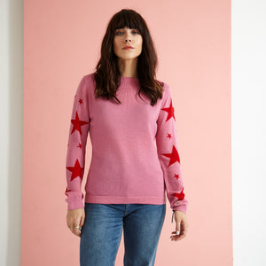 The Star Arm Knit Jumper