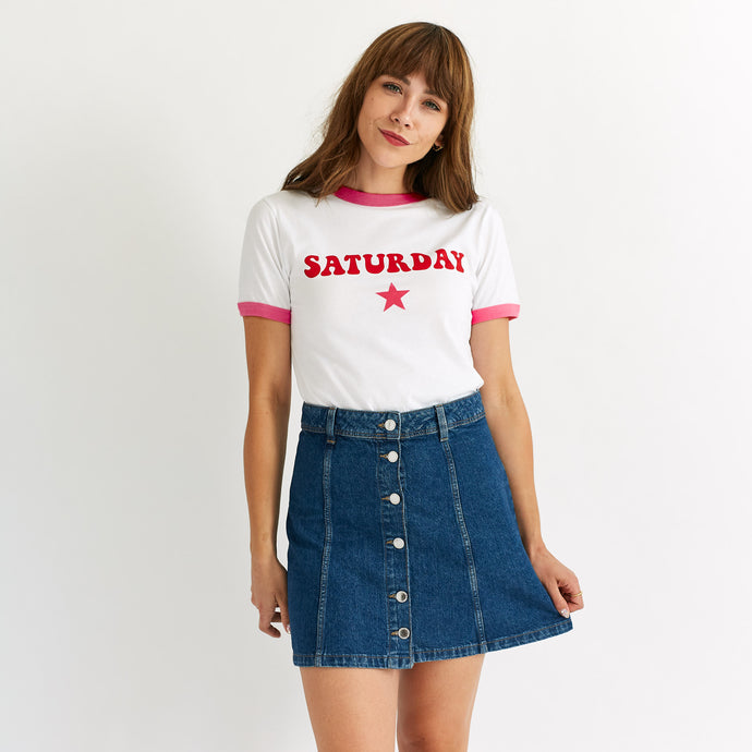 Saturday By Megan Ellaby The Lulu T-Shirt