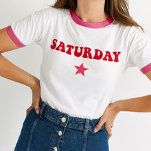 Load image into Gallery viewer, Saturday By Megan Ellaby The Lulu T-Shirt