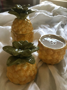 Pineapple Salt + Pepper Shaker