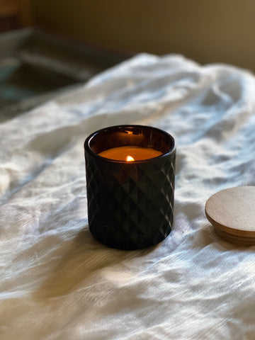 Beeswax Lifestyle Candle | Black | 8 oz.
