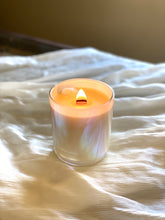 Beeswax Rose Quartz Candle