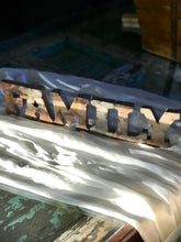 Rustic Rusty Metal Letters | FAMILY