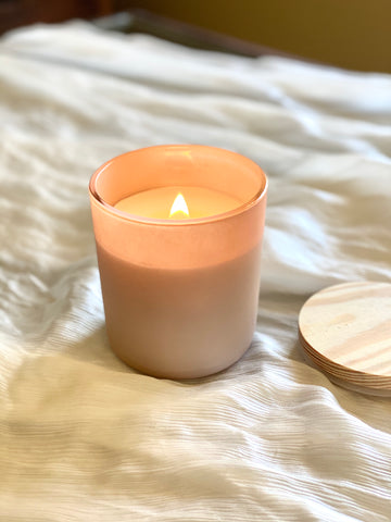Beeswax Lifestyle Aromatic Candle | Matte Blush | 13 oz.