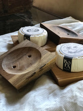 Handcarved Wooden Soap Dish