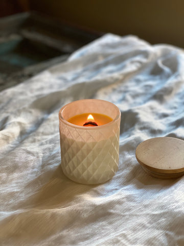 Beeswax Lifestyle Candle | White | 8 oz.