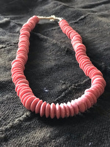 African Glass Beads | pink