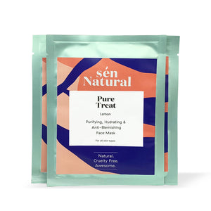 Lemon Trilogy - Pure Treat Masks